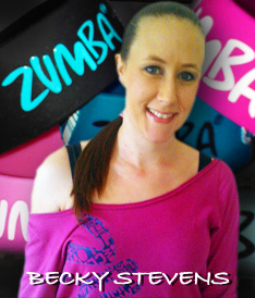 becky stevens zumba and zumbatomic classes in Sussex